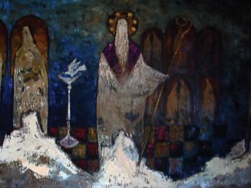 Mirotvorac (ulje na platnu, 130x90cm) 1994.god.