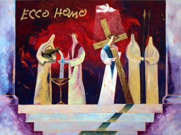 Ecce Homo (ulje na platnu, 100x80cm) 2005.god.