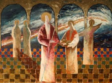 Proročanstvo (ulje na platnu, 100x70cm) 2001.god.