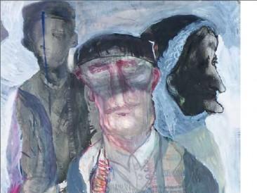 Porodica (ulje na platnu, 205x110cm) 2007.god.