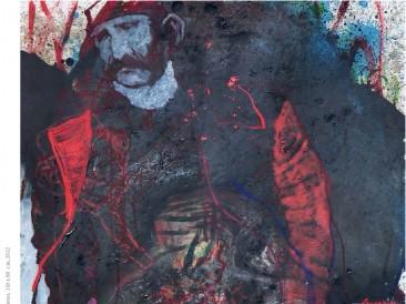 Ranjeni Crnogorac (ulje na platnu, 110x80cm) 2012.god.