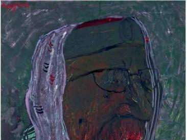 Mrki vuk (ulje na platnu, 70x50cm) 2004.god.