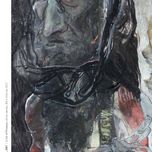 12 Čo ek žena, ulje na platnu, 208x104cm, 2017