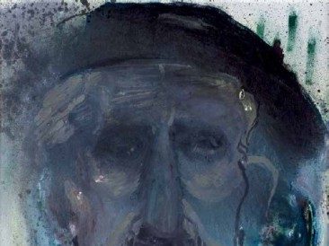 Domaćin, ulje na platnu, 70x50cm, 2004