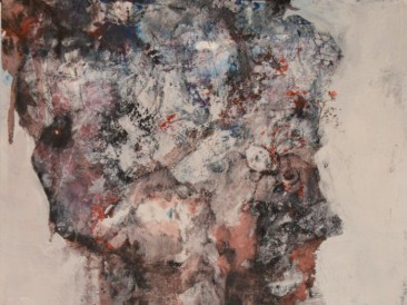 Decay II (komb.tehn. na papiru, 28,5×20,5cm) 2018.god.