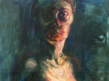 Communicaion IV – Agnes (ulje na platnu, 200x150cm)