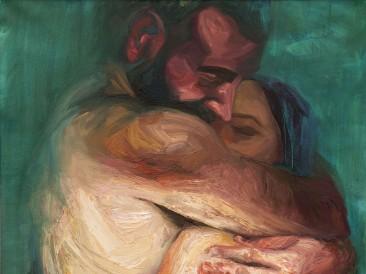Lovers (ulje na platnu, 100x70cm)