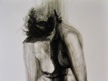 Narcissus (crtež, 100x70cm)