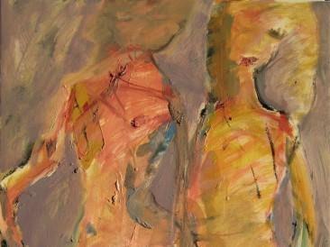 Ples 1 (ulje na platnu 35x45cm)