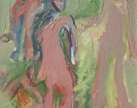 PLES-Ulje na platnu-Oil on canvas 55x45 cm
