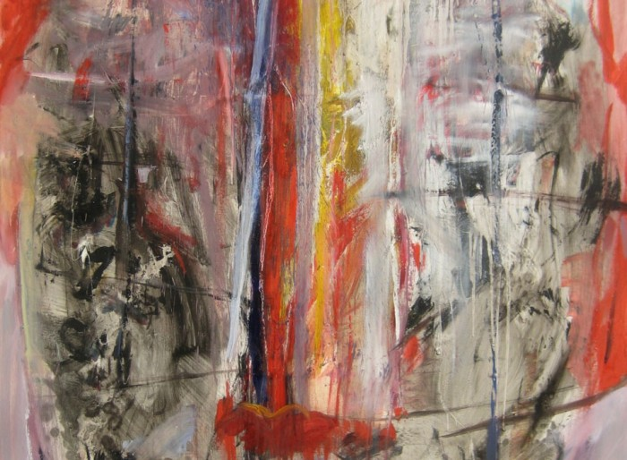 Ulje na platnu -Oil on canvas 200x150 cm