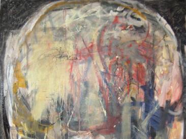 Glava 6 (ulje na platnu, 200x150cm)