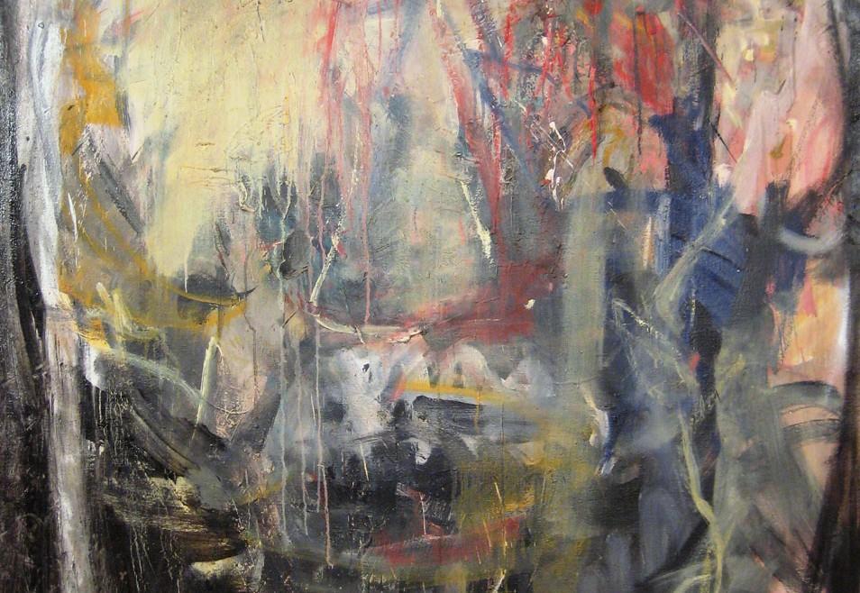 Ulje na platnu- Oil on canvas 200x150cm