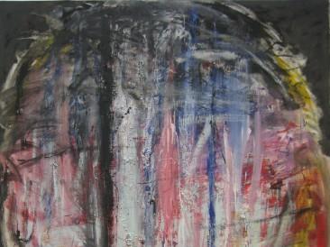 Glava 4 (ulje na platnu, 200x150cm)