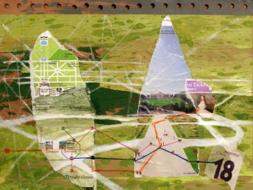 Dani svesnosti – Osamnaesti decembar (24x30cm, akril-papir) 2007.