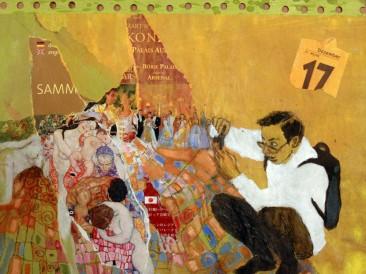 Dani svesnosti – Sedamnaesti decembar (24x30cm, akril-papir) 2007.