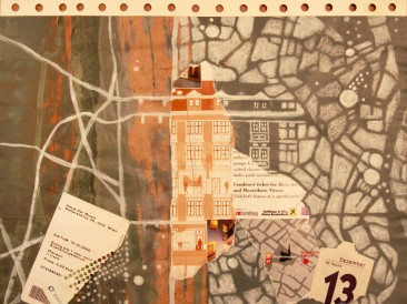 Dani svesnosti – Trinaesti decembar(24x30cm, akril-papir) 2007.