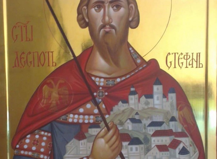 02 Ikona Sveti despot Stefan Lazarevic Vaznesenjska crkva Beograd