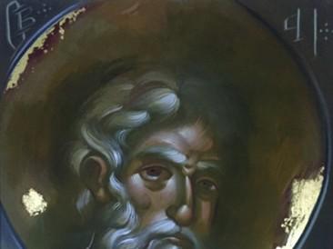 Apostol Petar (Akril na platnu sa pozlatom, 70x100cm) 2017.god.