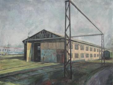 Ložionica, Novi Sad II (40×50 cm, ulje na platnu, 2015.god.)