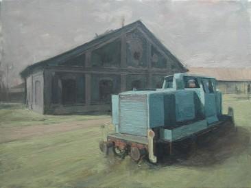Švabica (45×60 cm, ulje na platnu, 2016. god.)