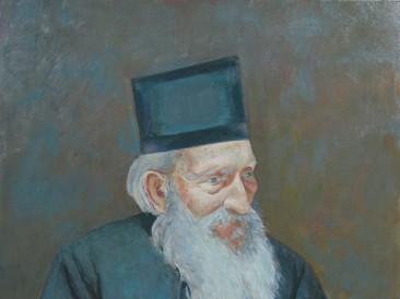 041 Patrijarh Pavle – portret, ulje na platnu