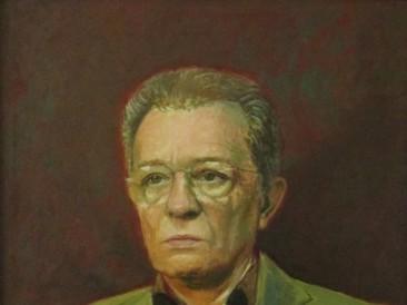 043 Mile Ignjatović – portret, ulje na platnu, 70x55cm, 2018 II