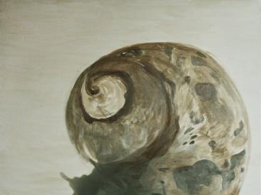 Puž (akrilik i tempera na platnu, 120x100cm, 2006.god.)