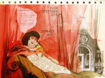 Dani svesnosti – Sedmi oktobar (24x30cm, akril-papir) 2014.